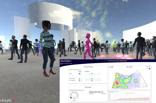 The tool can inform the design and construction of facilities to ensure the health and well-being of workers, while supporting the sustainable long-term use of the building itself, even in the event of a future outbreak.