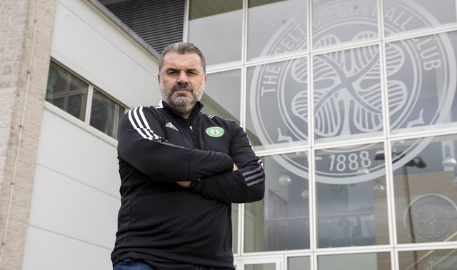 New Celtic Manager Ange Postecoglou during his first day at Lennoxtown on June 23, 2021, in Glasgow, Scotland.  (Photo by Craig Williamson / SNS Group)