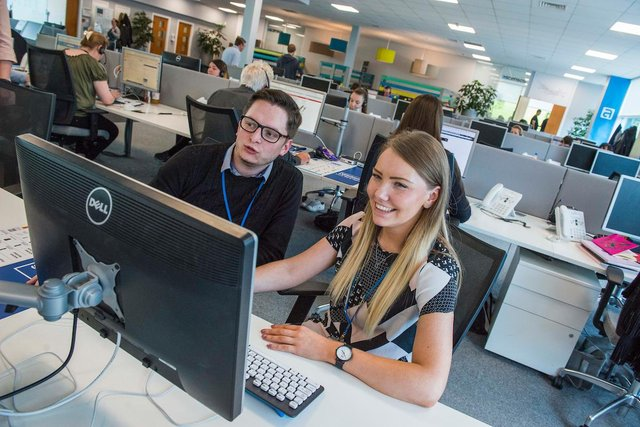 The firm has used funding from HSBC UK to lease 700 laptops and upgrade tech equipment for its staff (file image). Picture: Chris Watt.