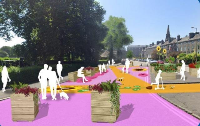 How Leith could look under the European vibe plan