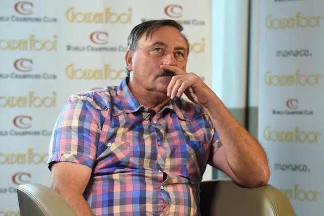 Antonin Panenka caught Covid-19 last year and had to battle pneumonia.