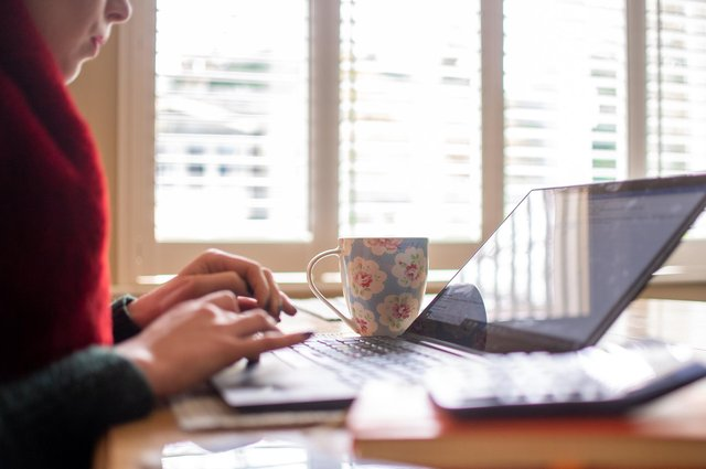 Many people have discovered the benefits of working from home, such as more time with their family and money saved in travel costs (Picture: Joe Giddens/PA)