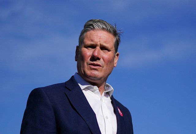 Keir Starmer, leader of the Labour Party, has alienated some female party members over his commitment to protect trans rights. PIC: Contributed.