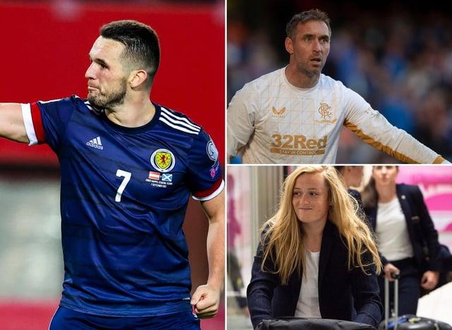 How do John McGinn, Allan McGregor and Erin Cuthbert rank in FIFA 22? Photo credit: SNS Group.