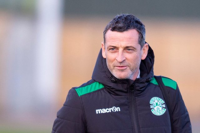 Hibs manager Jack Ross is already holding discussions with owner Ron Gordon about plans for next season. Photo by Mark Scates / SNS Group
