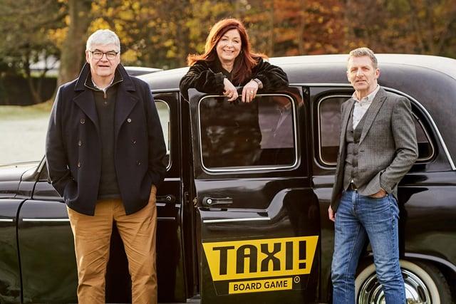 From left: Gordon Drysdale, Lynne Cadenhead and Derek Carroll. Picture: Malcolm Cochrane.