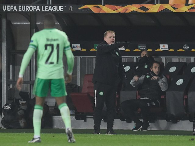 Celtic manager Neil Lennon retains belief in his ability to turn things around after another grim 4-1 defeat to Sparta Prague (Photo by Michal Cizek / AFP) (Photo by MICHAL CIZEK/AFP via Getty Images)
