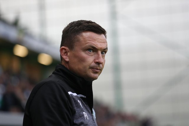 Former Hibs manager Paul Heckingbottom is the new interim boss of Sheffield United. (Photo by Ian MacNicol/Getty Images)