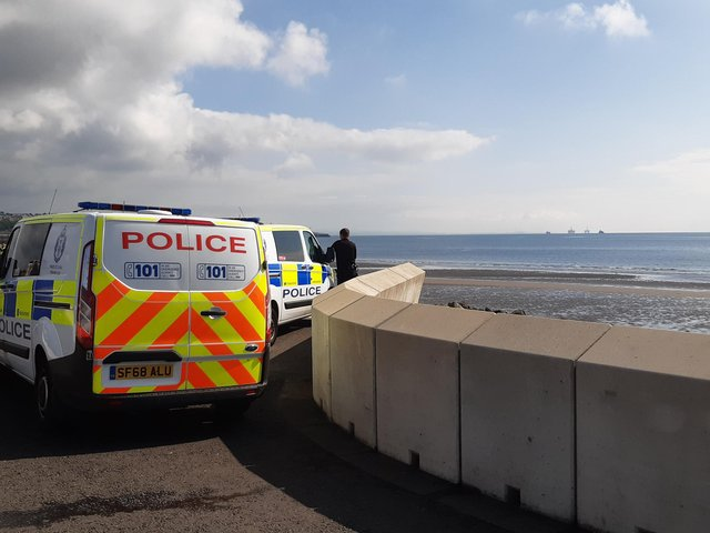 Emergency services remain at the scene this morning with a large police presence in the area.