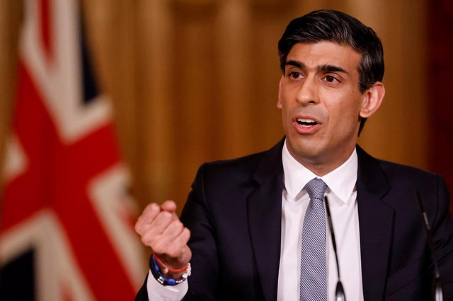 The SNP's spending plans appear to rely on Chancellor Rishi Sunak continuing to spend and so keep the Scottish government's coffers swollen with Barnett consequentials, says John McLellan (Picture: Tolga Akmen/WPA pool/Getty Images)