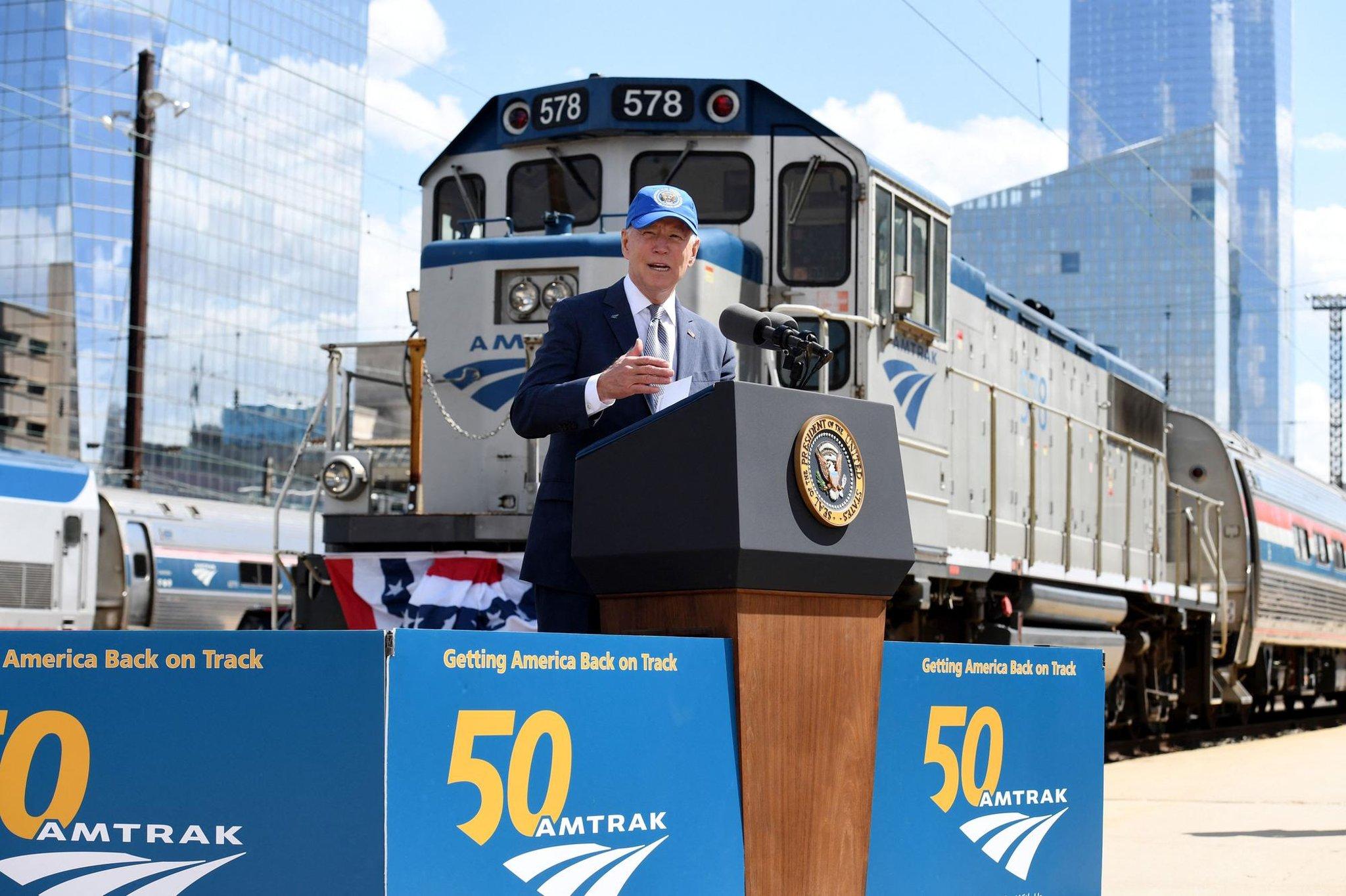 'Amtrak Joe' Biden riding the rails to UN climate summit would highlight green credentials of trains – Alastair Dalton