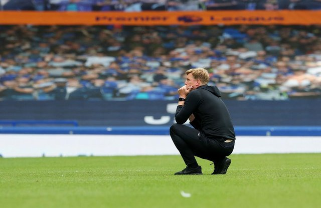 Eddie Howe. (Photo by Catherine Ivill/Getty Images)
