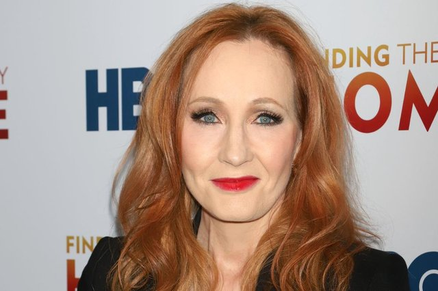 World-famous author JK Rowling.