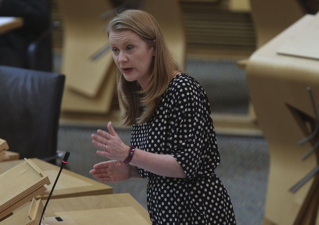 """Education Secretary Shirley-Anne Somerville has said there is """"no role"""" for council interference in awarding pupil grades."""