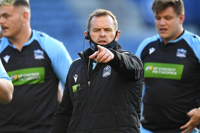 Glasgow Warriors head coach Danny Wilson. Picture: Ross MacDonald/SNS