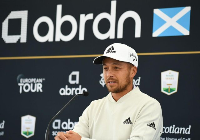 Xander Schauffele speaks about his abrdn Scottish Open debut at The Renaissance Club in East Lothian. Picture: Mark Runnacles/Getty Images.