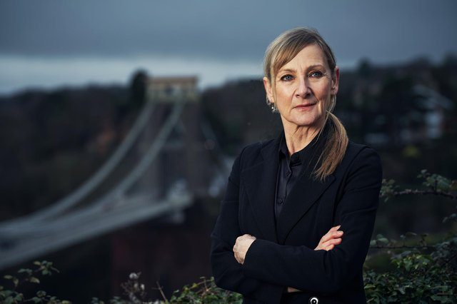 Lesley Sharp as Hannah in Channel 4 psychological crime drama Before We Die.