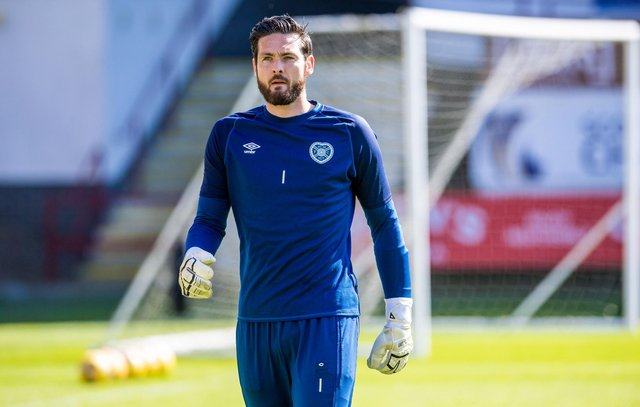 Craig Gordon is ready to return for Hearts.