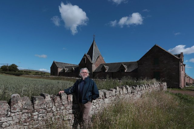 Entrepreneur George Mackintosh at Papple Steading in East Lothian. Picture: Stewart Attwood