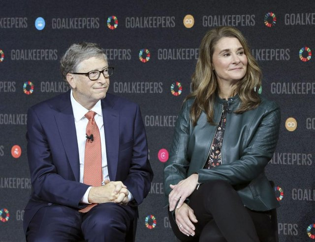 Bill and Melinda Gates announced their divorce on a Twitter post (Photo: LUDOVIC MARIN/AFP via Getty Images)