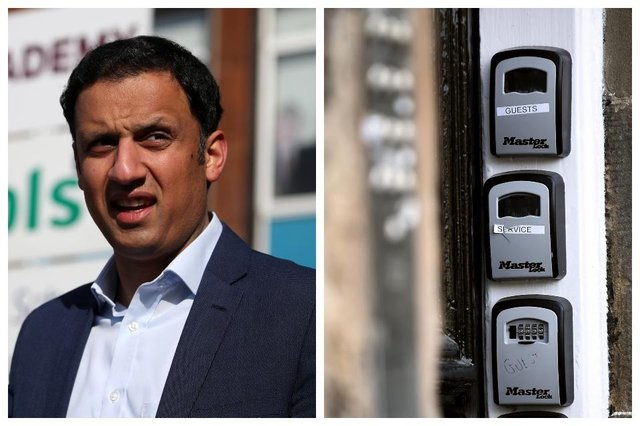 Anas Sarwar is set to announce plans for Airbnbs to require planning permission if Labour win the Holyrood election