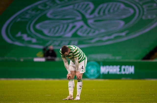 Celtic have suffered a trying season to this point. Picture: SNS