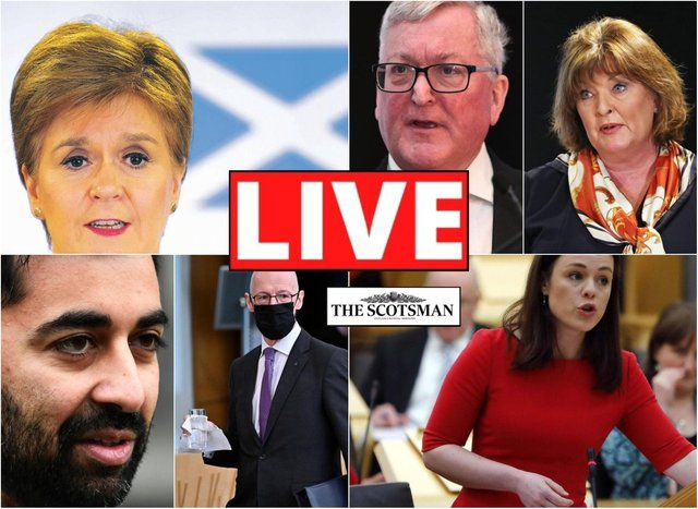 The First Minister is set to appoint cabinet ministers throughout today.