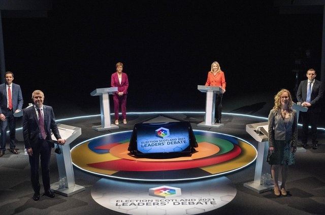 The BBC staged the first leaders debate
