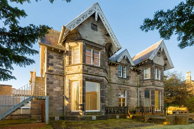 The joint agents will be marketing a further property at Marchhall Crescent, Edinburgh, which served as hospital during the First World War and subsequently became a nursing home. Picture: Angus Behm/SquareFoot