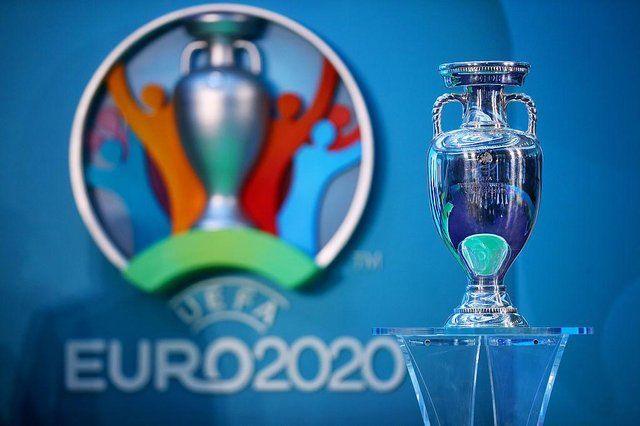 The UEFA European Championship trophy. (Pic: Getty Images)