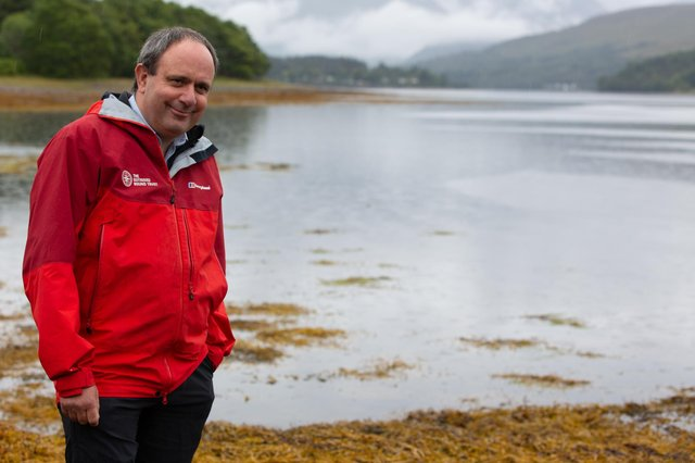 Martin Davidson, director of Scotland and Innovation at The Outward Bound Trust.