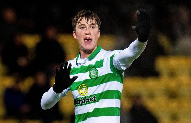 Jack Hendry pourrait avoir une deuxième chance au Celtic après une saison de prêt impressionnante à Ostende cette saison.  (Photo de Ross MacDonald / Groupe SNS)