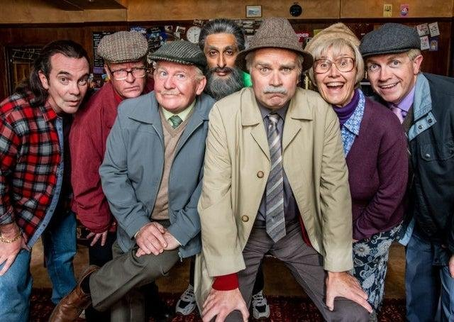 The cast of Still Game. Pic: Alan Peebles