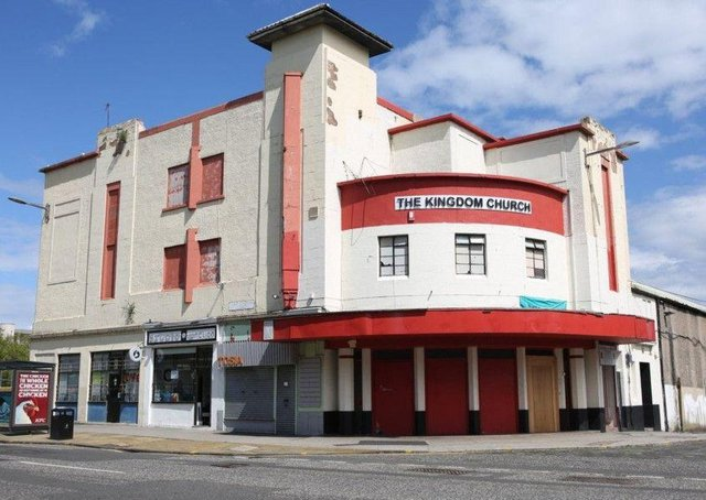 The former State Cinema on Leith's Great Junction Street is being redeveloped into luxury housing.