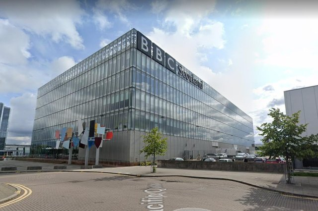 Control over studios A and B at the BBC'sPacific Quay base in Glasgow could be transferred to BBC Studioworks (Photo: Google Maps).