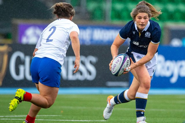 Helen Nelson was part of the Scotland side which impressed in the 13-13 draw with France last October. Picture: Bill Murray/SNS