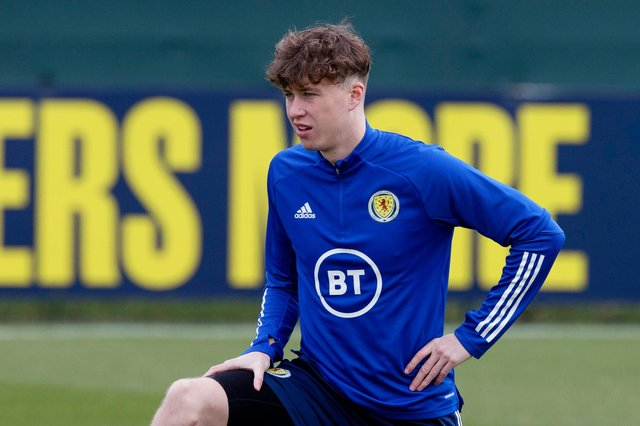 Jack Hendry returned to the Scotland squad for the upcoming triple-header. Picture: SNS
