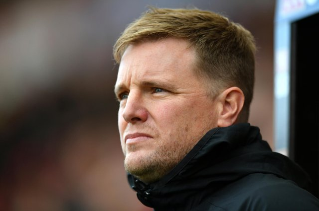 Eddie Howe is expected to be named Celtic manager next week. (Photo by Dan Mullan/Getty Images)