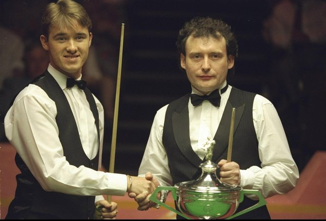 Stephen Hendry won the world title back in 1994 against Jimmy White - the pair met again 27 years on in very different circumstances.