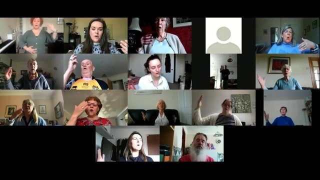 This is Home performed by St Andrews Voices Singing for Lung Health workshop