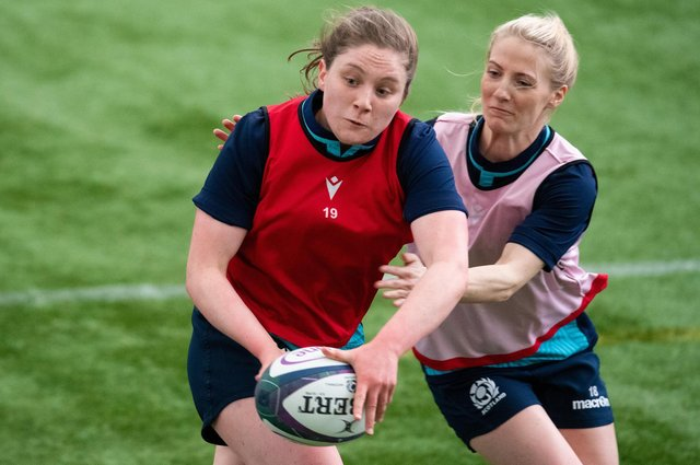 """Coach Bryan Easson says Scotland have been """"working hard on areas that we believe have had deficiencies"""". Picture: Ross MacDonald/SNS"""