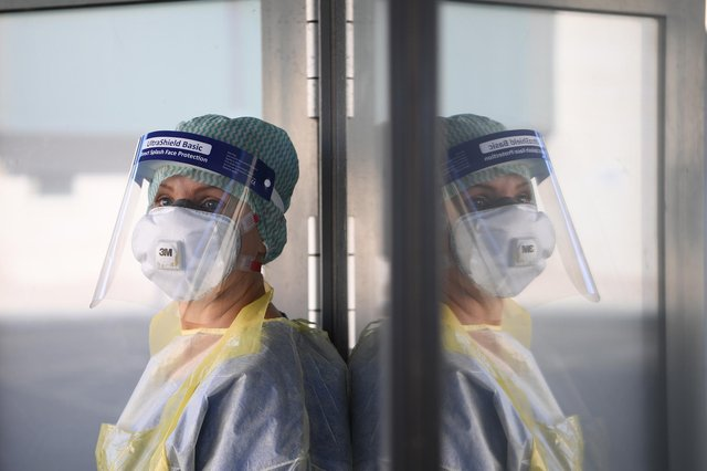 An emergency department nurse. Picture: PA