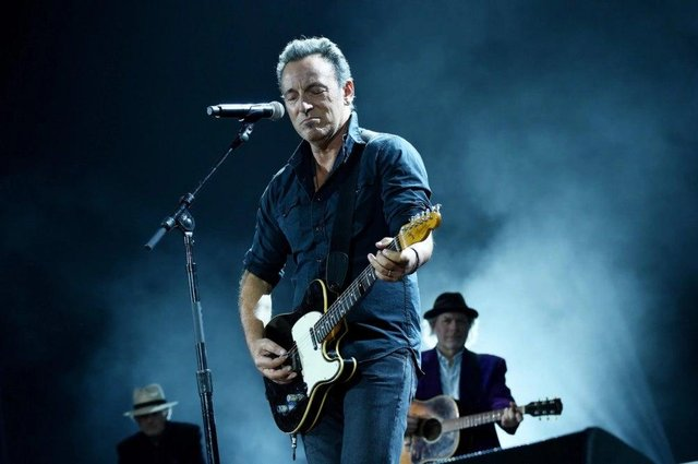 Bruce Springsteen fronted a film for Jeep. Picture: Getty
