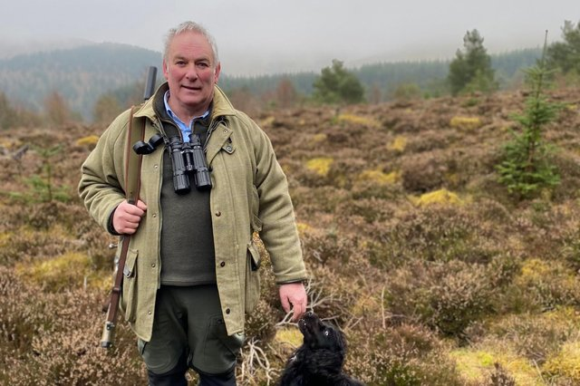 Alex Hogg, chairman of the Scottish Gamekeepers Association picture: supplied