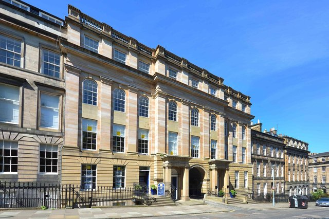 The building, which overlooks Queen Street Gardens, received World Heritage status in 1996. Picture: contributed.