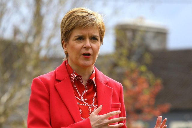 Nicola Sturgeon must act quickly to avoid her government's performance on the vital issues of social justice and sustainability being sidelined by tired constitutional sniping, says Joyce McMillan (Picture: Colin Mearns/The Herald/pool)