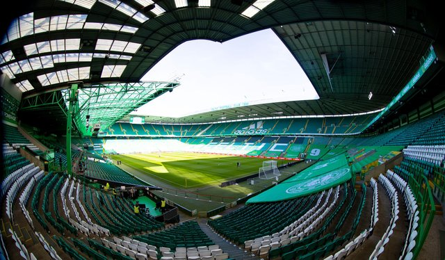 A genreal view of Celtic Park