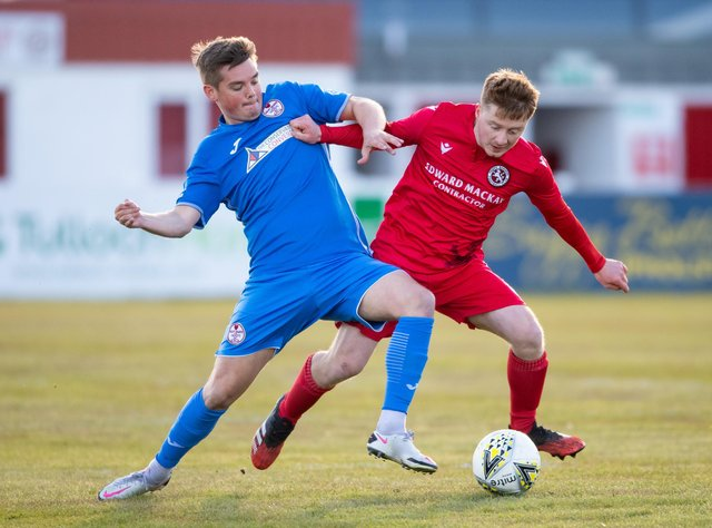 Kelty defeated Brora Rangers 2-0. Picture: SNS