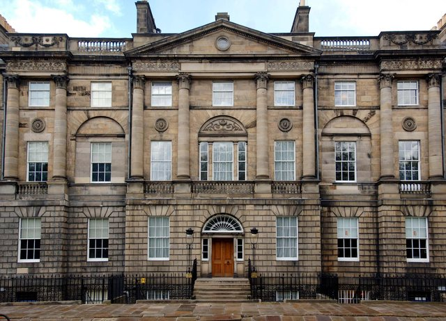 Bute House in Charlotte Square, the official residence of the First Minister of Scotland, is among properties that could be sold off by National Trust for Scotland to stem a funding crisis at the conservation and heritage charity. PIC: Creative Commons/Scottish Government