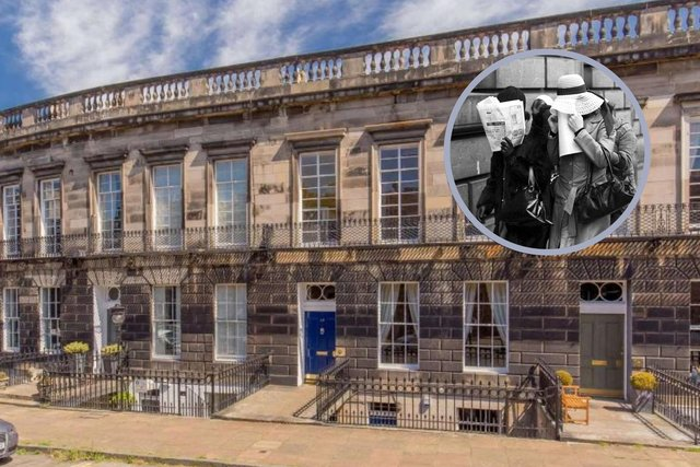 Notorious former brothels goes up for sale in Edinburgh's Stockbridge - with £1.45m price tag